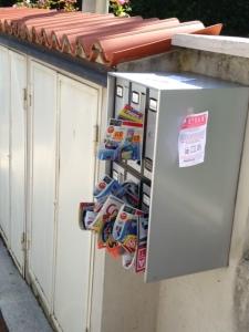 foto di cassette postali